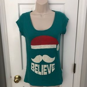 Santa Believe Graphic T Shirt by Stranded